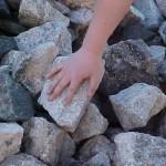 Build a stone reminder of God's faithfulness.