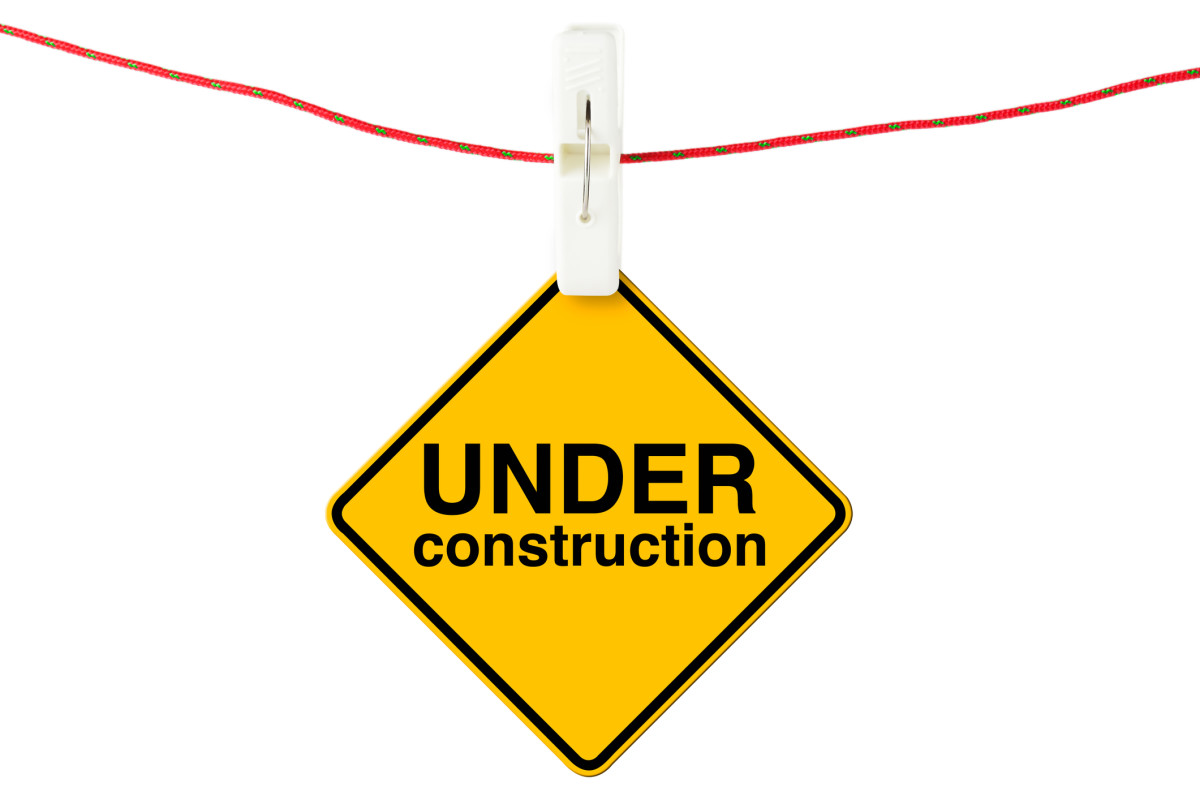 I guess I'm under construction!